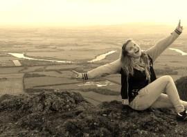 ... Me over Stirling, Scotland.
