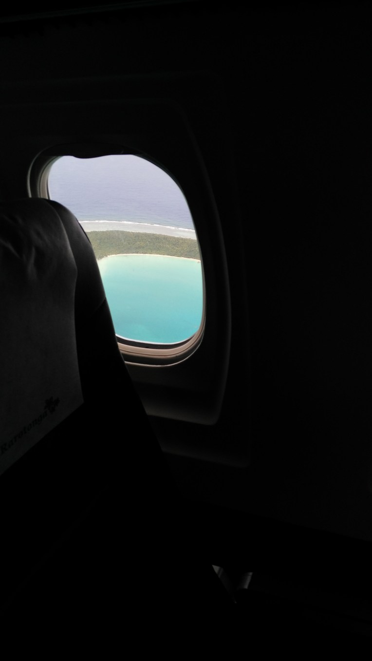 Bye bye Aitutaki, we didn't have an amazing time but it's not your fault <3