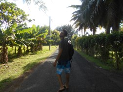 Walking down to the beach