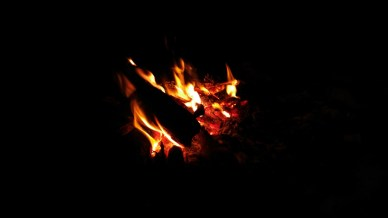 Campfires on the beach!