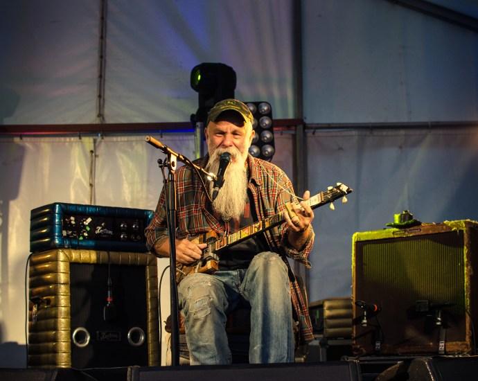 Seasick Steve Blues Guitarist
