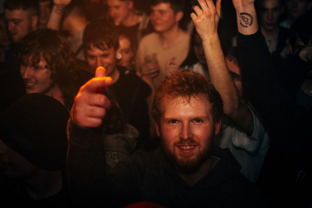 Jam Baxter Tour Crowd Brighton