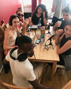 Cluny Jeunes chez la Radiodu9