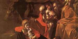 Caravaggio - Adoration Of The Shepherds