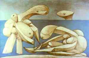 Pablo Picasso - Bathers with a Toy Boat