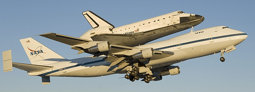 Shuttle on Boeing