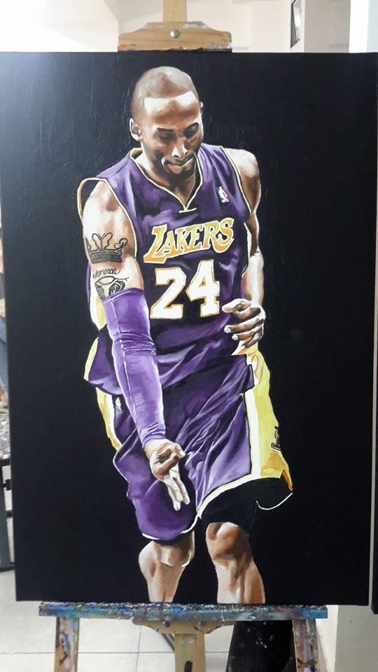Kobe Bryant by Roy