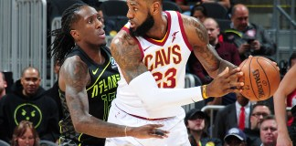 LeBron James連續兩場交出三雙。(圖片:Scott Cunningham/NBAE via Getty Images)