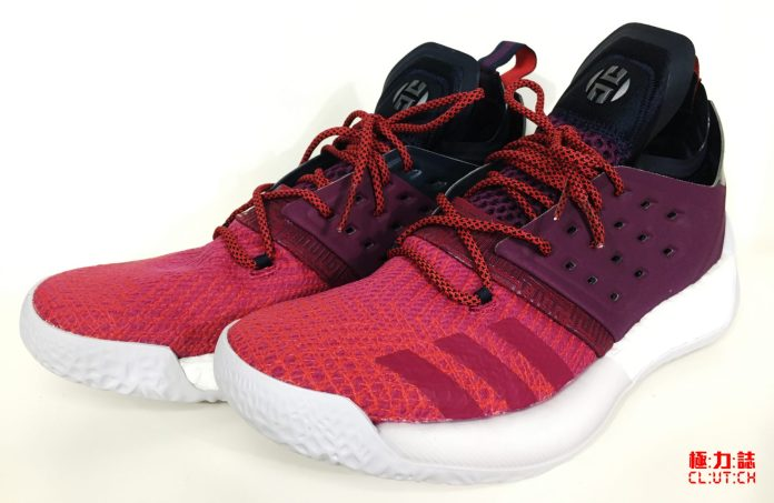 測試鞋款:Harden Vol.2-Ignite
