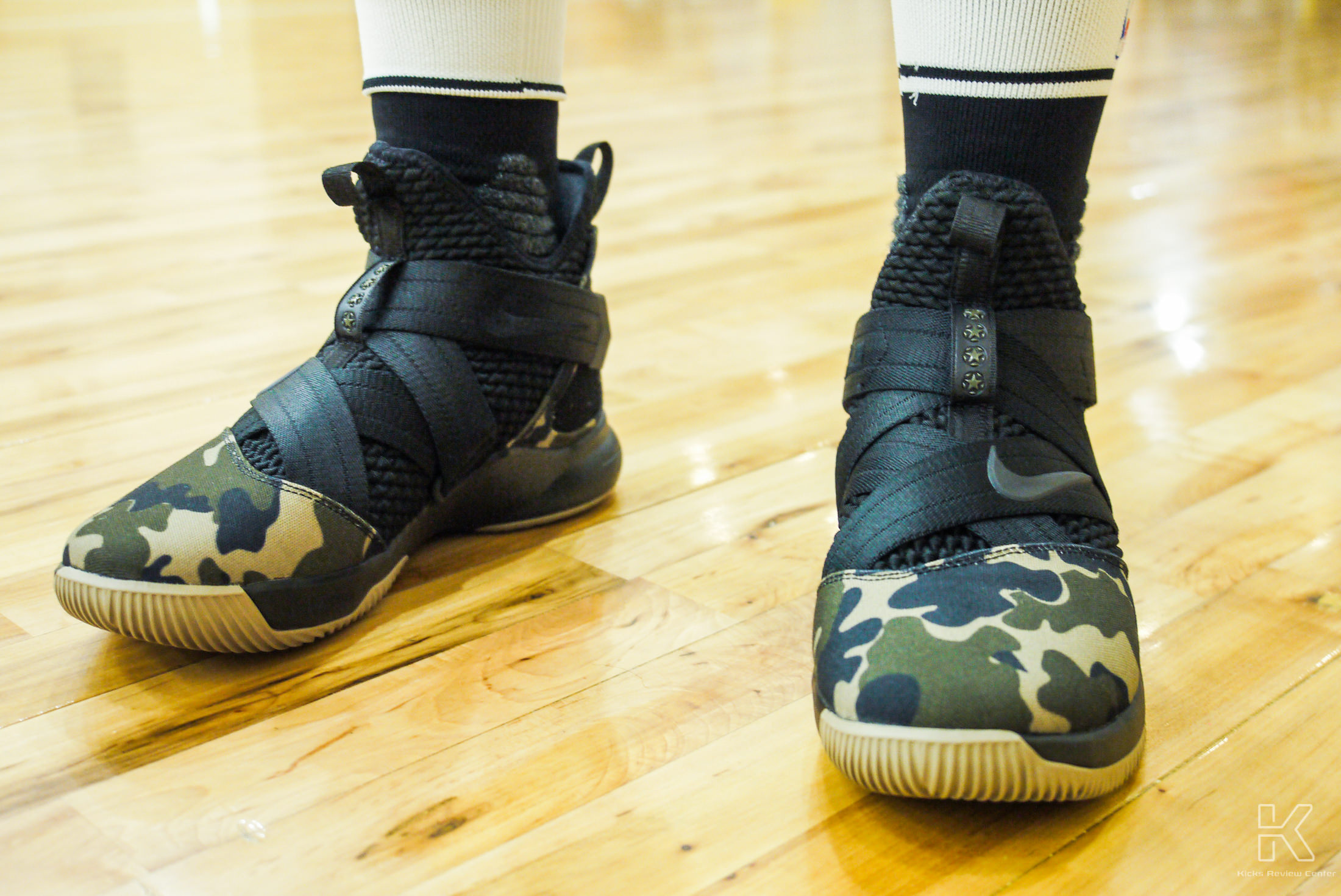 size 40 bb507 6777f LeBron Soldier 12 Performance Review [Kicks Review Center ...