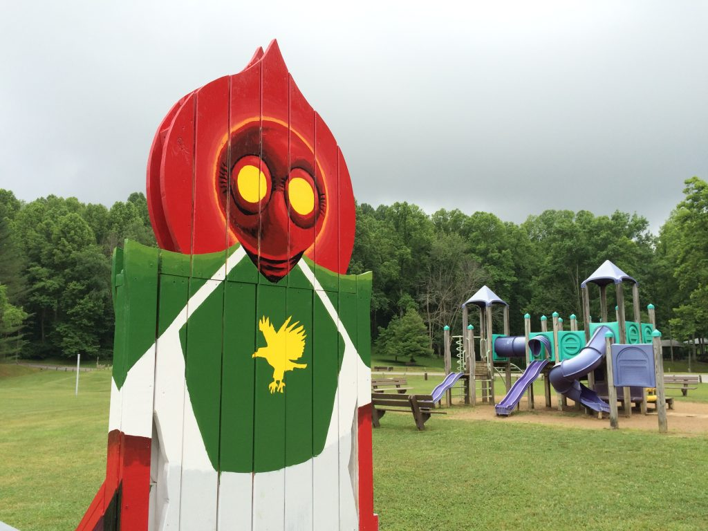 Flatwoods Monster Chair in Braxton County