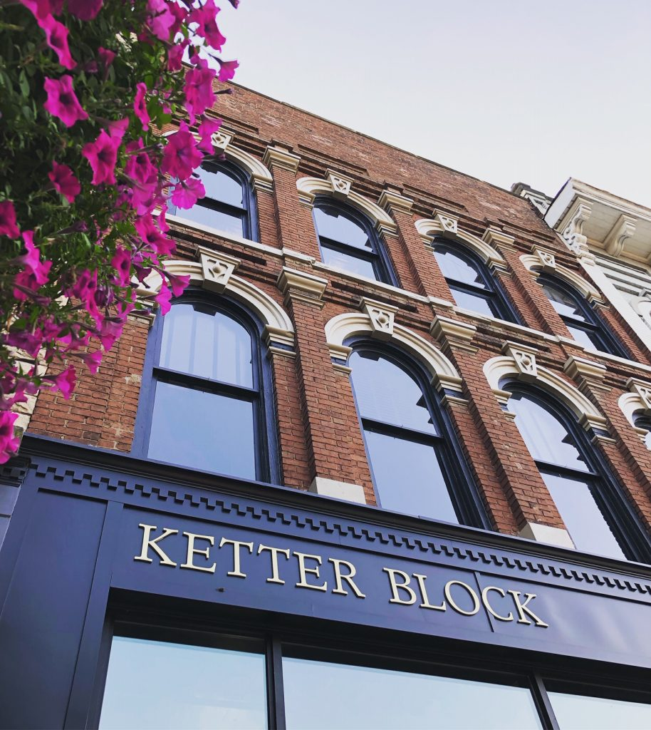 The Ketter Block building, renovated by Sixmo Architects & Engineers, is home to IncSwell on 204 Front Street in Marietta.