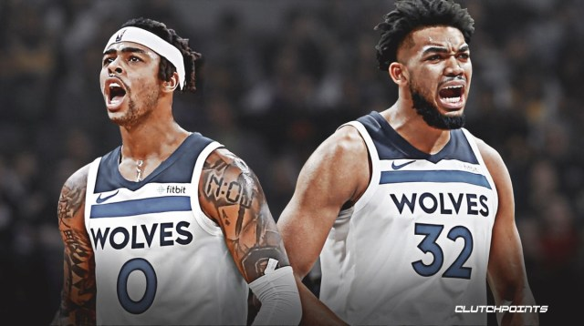 Timberwolves news: Karl-Anthony Towns on pairing with D'Angelo Russell
