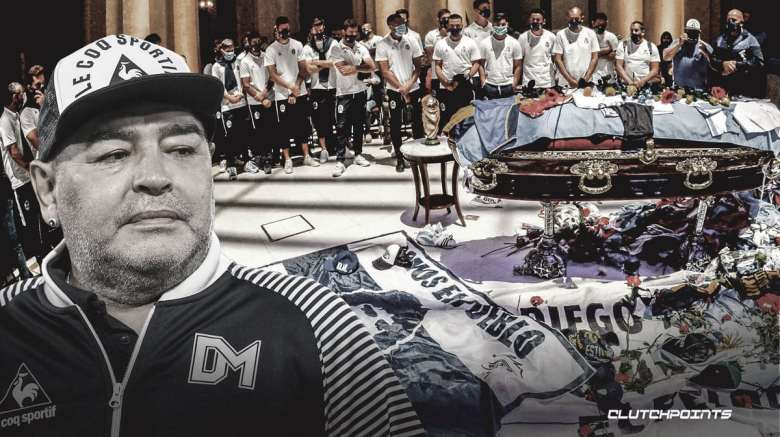 Diego Maradona news: Funeral worker fired after posting disturbing selfie  with legend's body