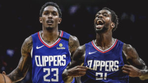 lou williams, patrick beverley, clippers