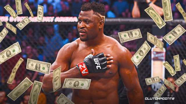 Francis Ngannou's net worth in 2021, UFC 260, Francis Ngannou