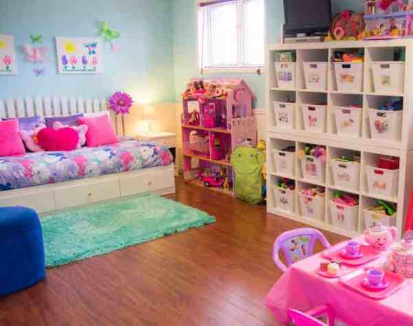Organizing Kids Playroom Ideas