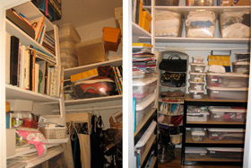 Before  After  Clutter Cowgirl
