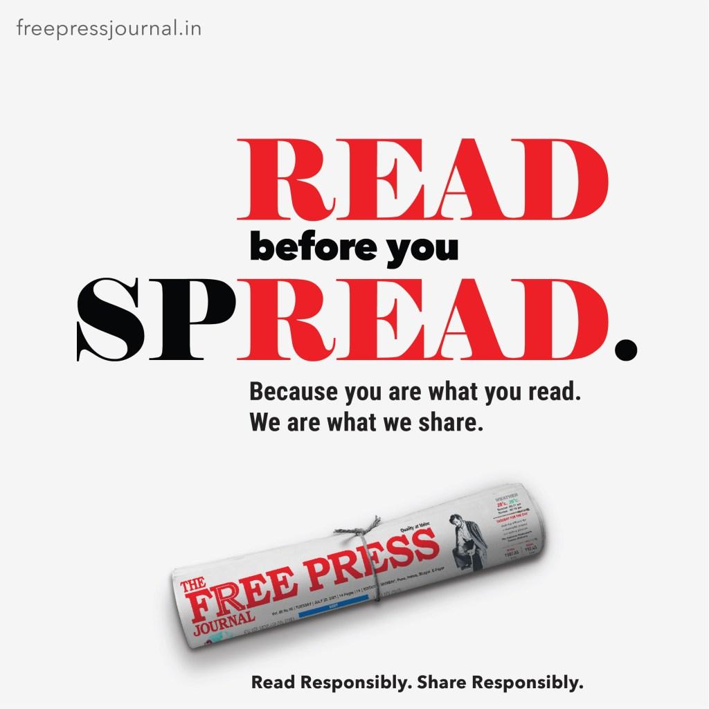 The Free Press Journal   #ReadResponsiblyShareResponsibly