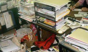 Stressful work area