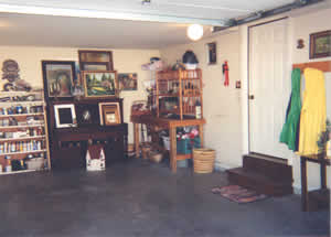 An organized Garage