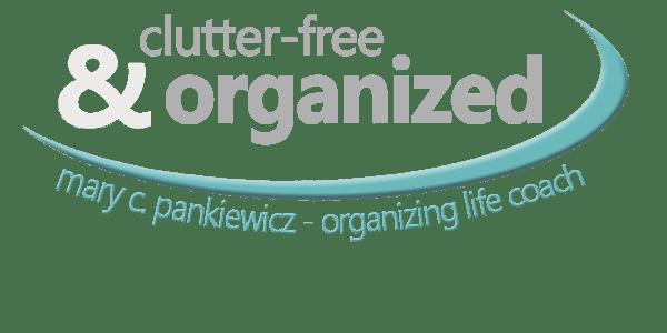 Mary Pankiewicz - organizing life coach Logo