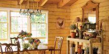 Lucinda Rooney Vermont Log Cabin - Decorating Ideas