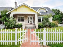 White House with Picket Fence for Sale