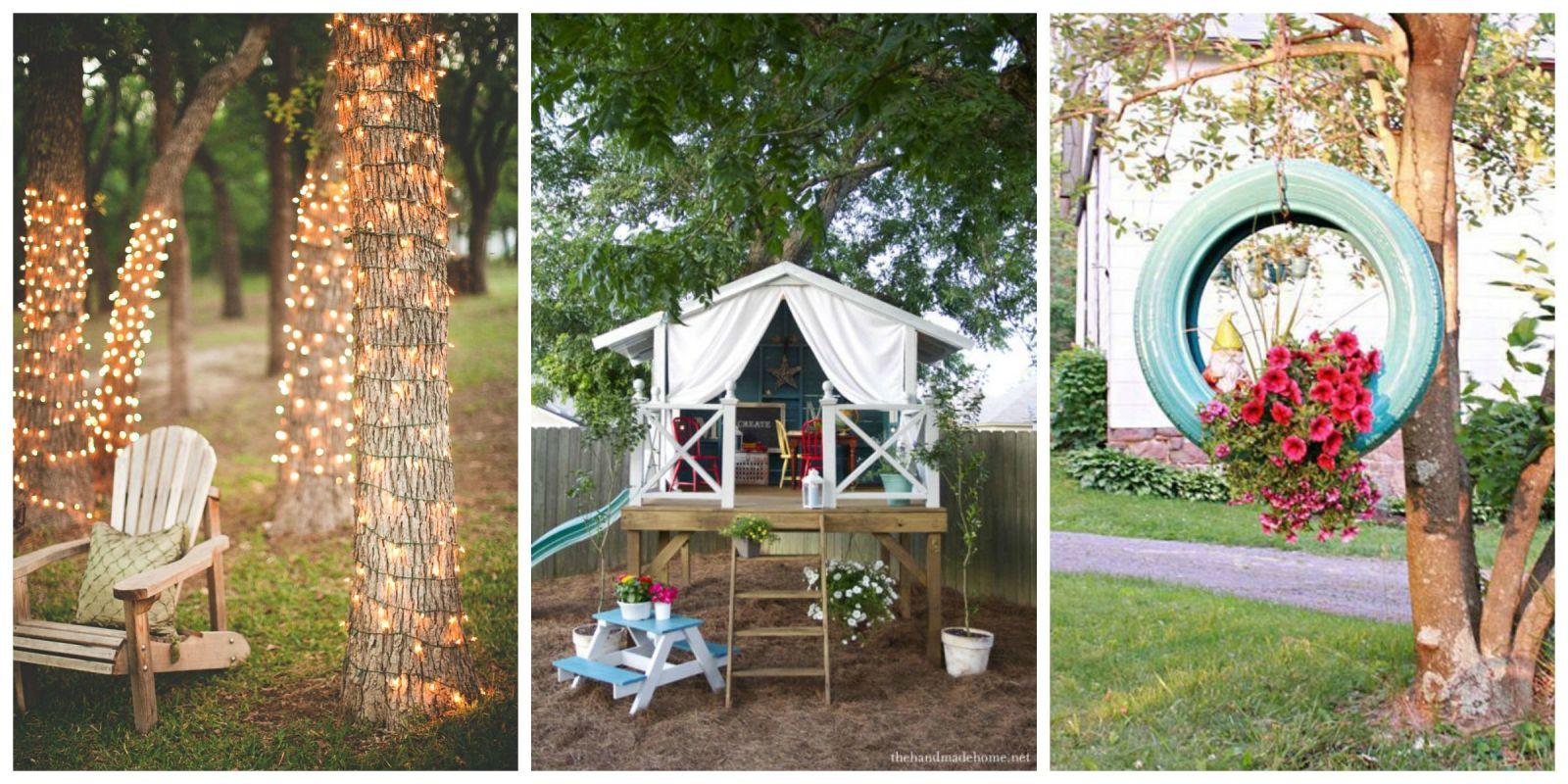 54 DIY Backyard Design Ideas