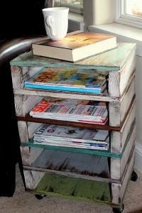11 Clever DIY Magazine Storage Ideas