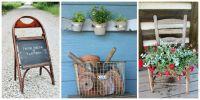 13 Creative Ways to Repurpose Old Chairs - Repurposed ...