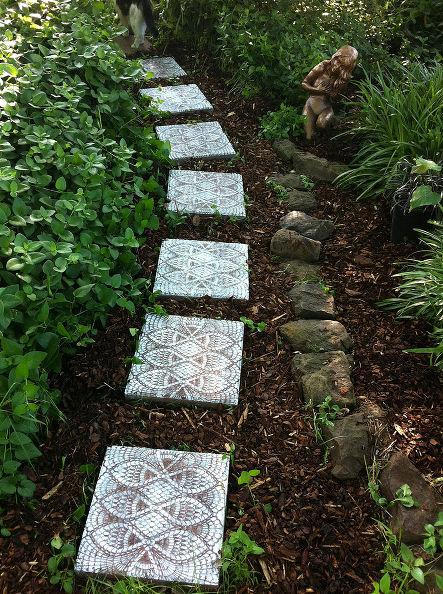 10 DIY Garden Path Ideas How To Make A Garden Walkway