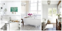 30 White Bathroom Ideas