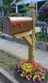 8 Easy DIY Mailbox Designs - Decorative Mailbox Ideas