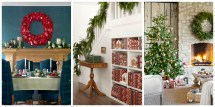 Country Christmas Decorations - Holiday Decorating Ideas
