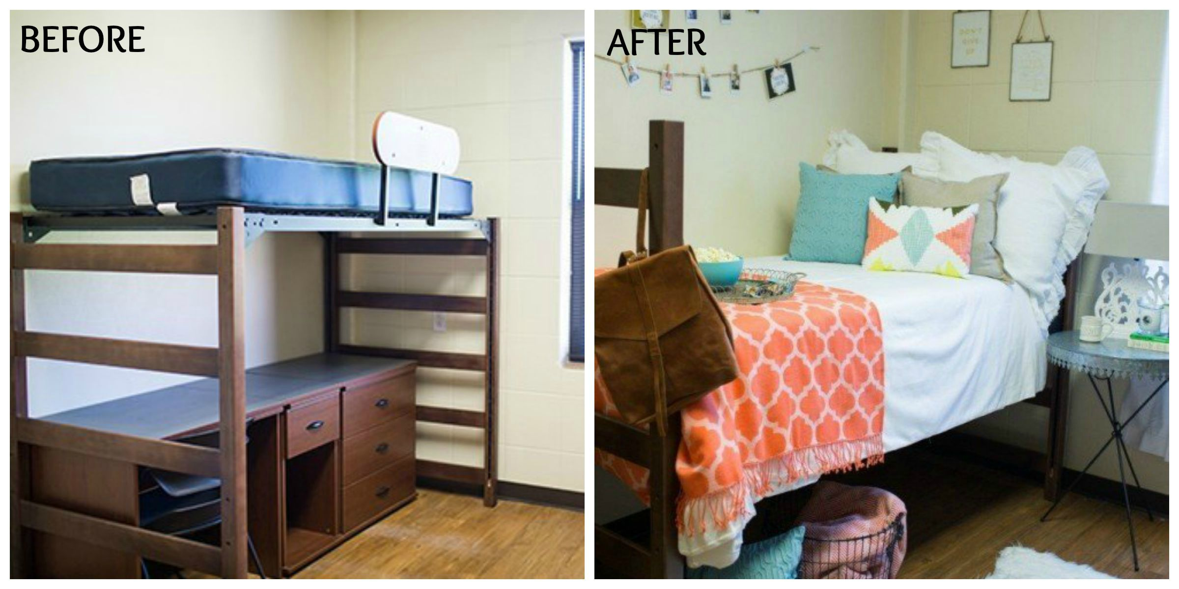 Joanna Gaines Dorm Room Makeover