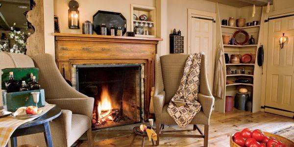 Fireplace Design Ideas - Mantel Decorating