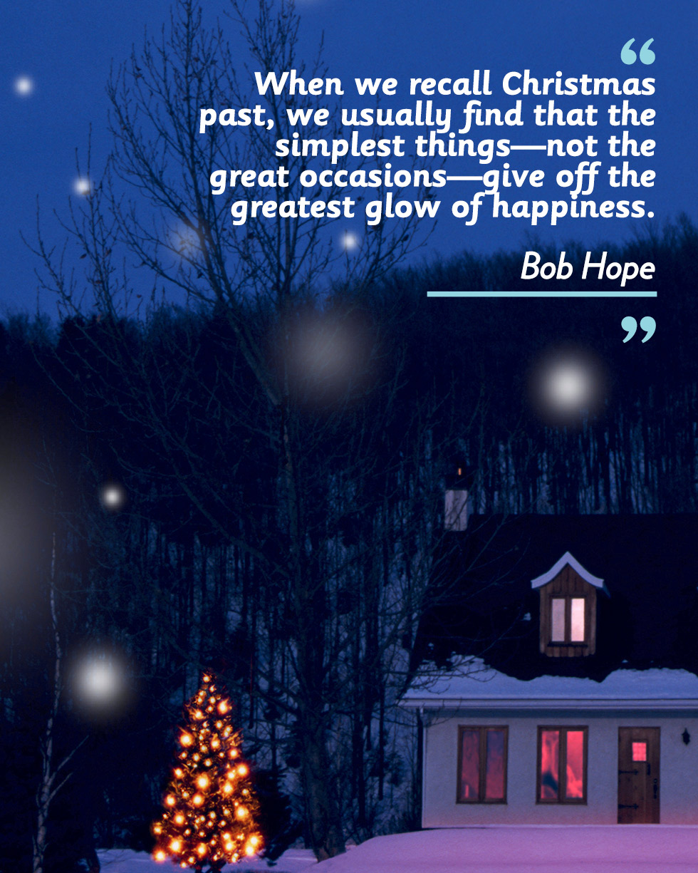 Inspirational Christmas Quote Of The Day: One By Bob Hope