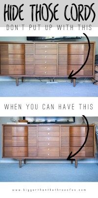 10 Stylish Ways to Hide Unsightly Cords and Wires In Your ...