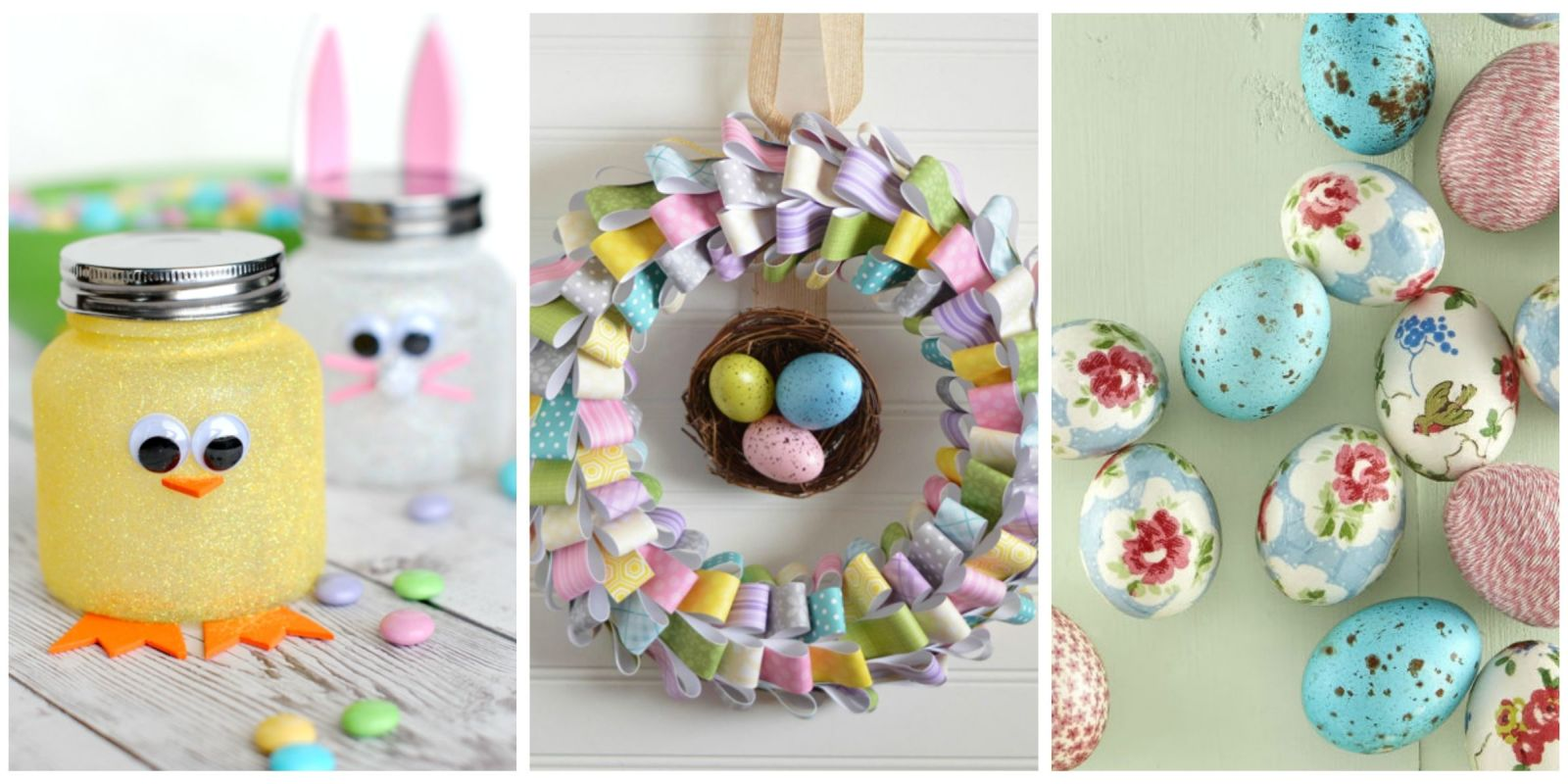 60 Easy Easter Crafts Ideas For Easter DIY Decorations & Gifts