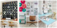 29 Excellent Home Office Decorating Ideas For Women ...