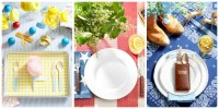 Summer Table Settings - Party Centerpieces for Tables