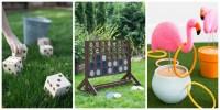 18 Fun Diy Outdoor Yard Games For Kids Backyard Party ...