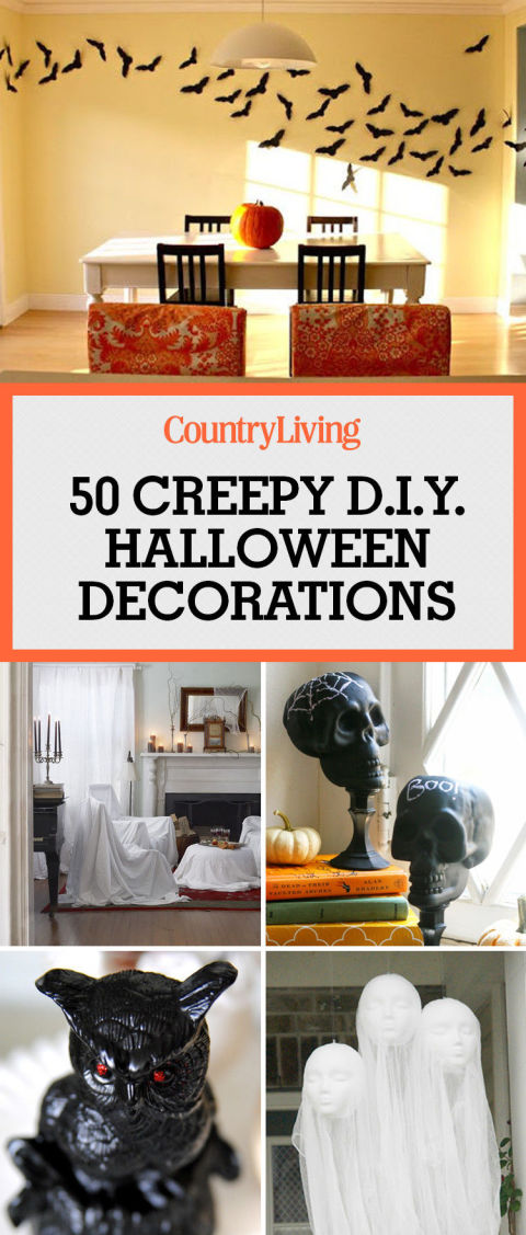 Easy DIY Halloween Decorations Homemade Do It Yourself Halloween
