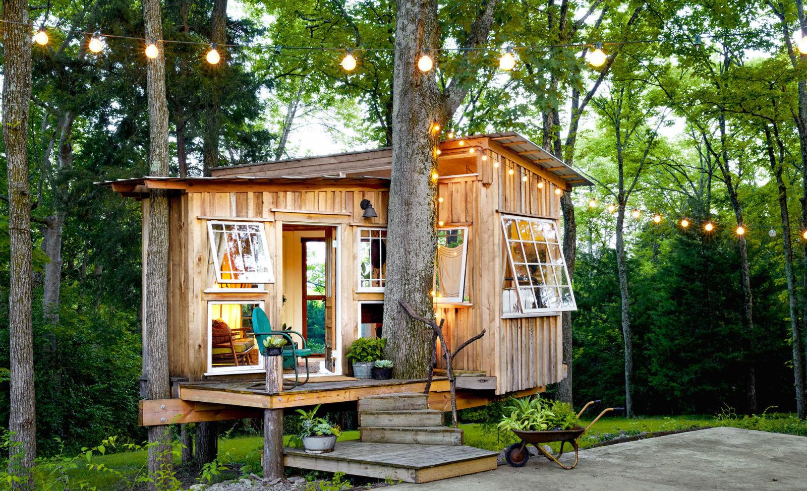 Nashville Treehouse Nashville Tiny House