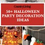 56 Fun Halloween Party Decorating Ideas Spooky Halloween