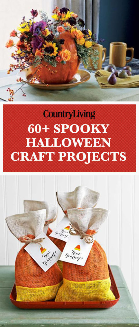 Save these Halloween craft ideas for later by pinning this image! Follow Country Living onPinterestfor more great Halloween ideas.
