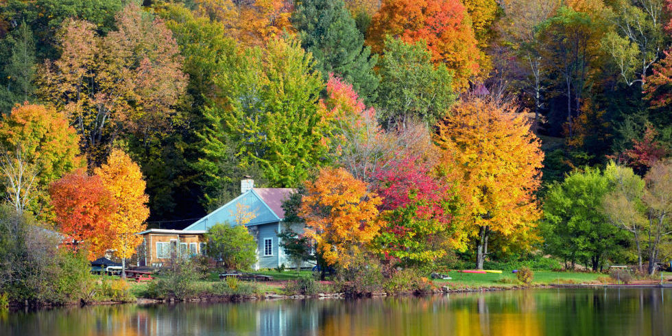 New England Fall Phone Wallpaper Best Fall Foliage Small Towns In America Leaf Peeping