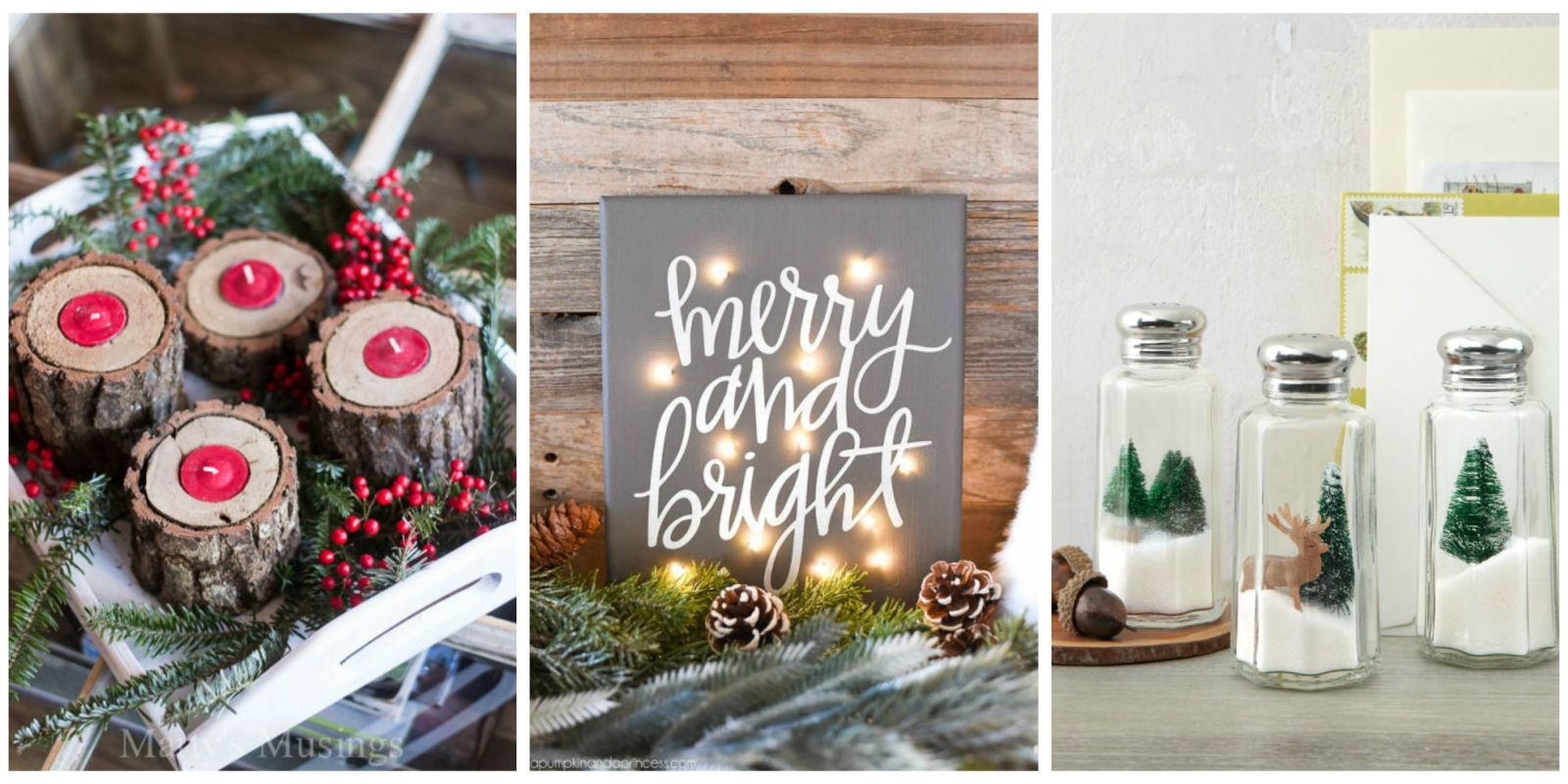 35 DIY Homemade Christmas Decorations