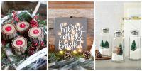 35 DIY Homemade Christmas Decorations - Christmas Decor ...